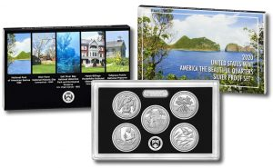 2020 America the Beautiful Quarters Silver Proof Set Released