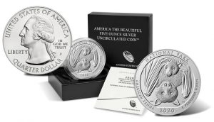 2020-P National Park of American Samoa 5 Oz Silver Uncirculated Coin Released