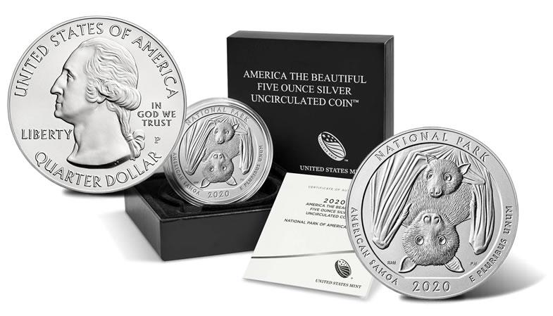 BU 2016 All Five P America the Beautiful Quarters Uncirculated 5 Coins