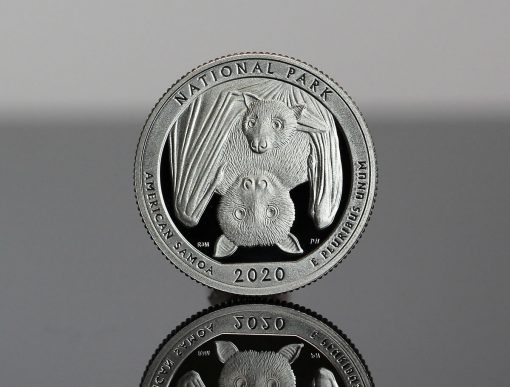 2020-S Proof National Park of American Samoa Quarter