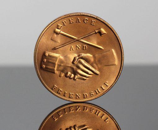 Andrew Jackson Presidential Bronze Medal - Reverse