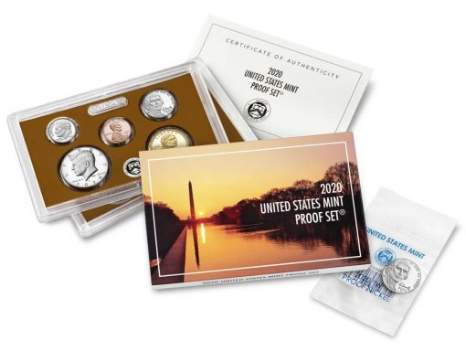 U.S. Mint Product Images 2020 Proof Set