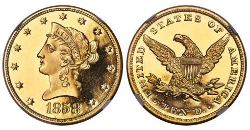 1858 Liberty Eagle