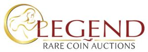 Logo for Legend Rare Coin Auctions