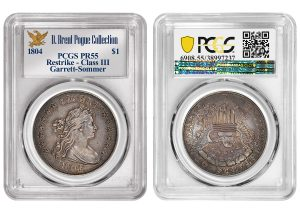 PCGS-Certified Pogue 1804 Silver Dollar Sold for $1.44M by Stack's Bowers