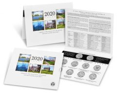 2020 Quarters Issued in 10-Coin Uncirculated Set for Collectors