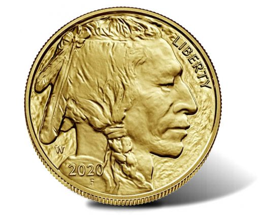 2020-W $50 Proof American Buffalo Gold Coin - Obverse