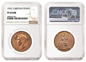 NGC Certifies 1952 Great Britain Penny