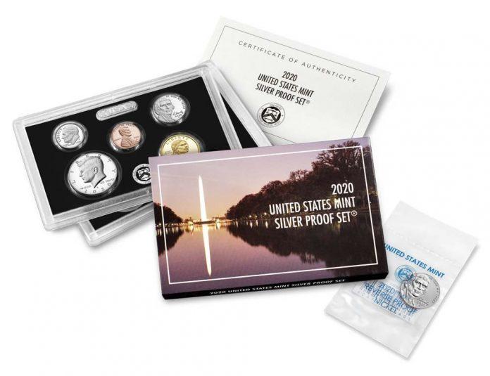 U.S. Mint Product Images 2020 Silver Proof Set