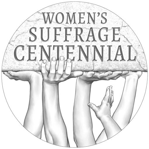 Women's Suffrage Centennial Silver Medal - Obverse Design
