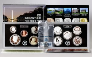 US Mint Sales: 2020 Silver Proof Set Tops 225,000 in Ten Weeks