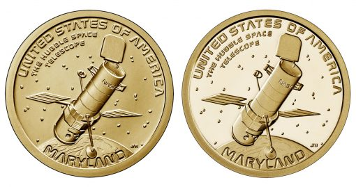2020 Maryland American Innovation Dollar - Reverse. Uncirculated and Proof