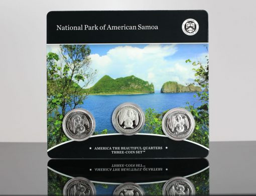 2020 National Park of American Samoa Quarter Three-Coin Set