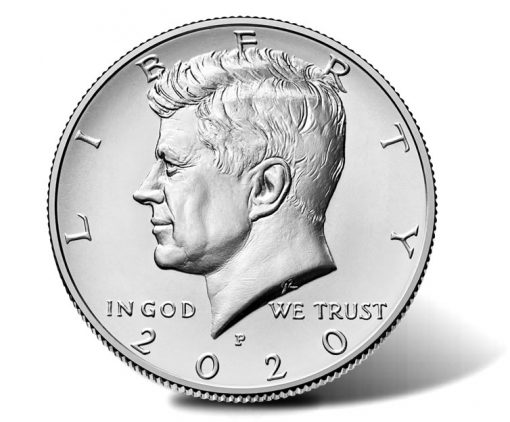 2020-P Kennedy Half Dollar - obverse