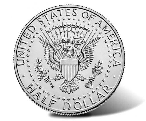 2020-P Kennedy Half Dollar - reverse