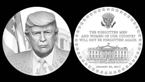 Donald Trump Presidential Medal Designs Recommended