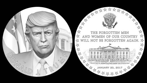 Recommended Donald Trump Presidential Medal Designs (obverse and reverse)