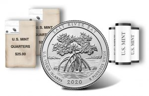2020 Salt River Bay Quarter rolls and bags