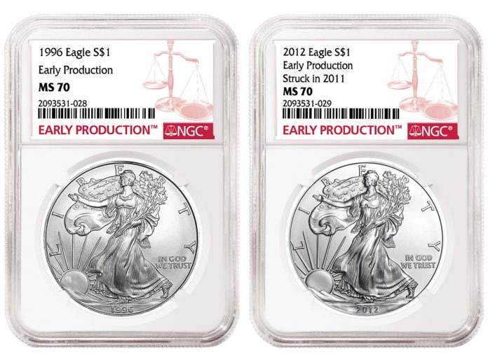 NGC Early Production Designated Coins