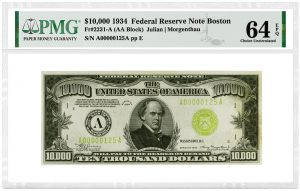 PMG-Graded Notes Dazzle at Heritage Sale on Aug. 3