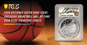 PCGS HOF Justin Kunz illustration