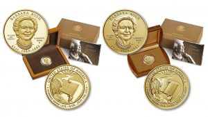 2020 Barbara Bush First Spouse Gold Coins Launch