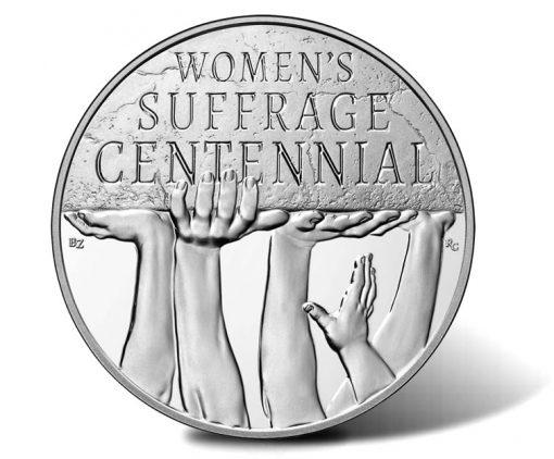 Women's Suffrage Centennial Silver Medal - Obverse