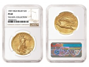 NGC-Certified 1907 $20 Double Eagle Realizes $660,000 in Heritage Sale