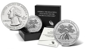 2020 Salt River Bay 5 Ounce Silver Uncirculated Coin Released