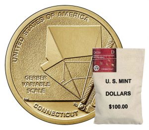 US Mint Sales: Connecticut American Innovation Dollars Debut