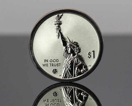 CoinNews Photo 2020-S Reverse Proof Connecticut American Innovation Dollar - Obverse Side