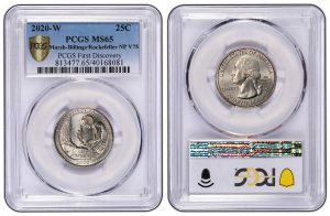 Two Winners in PCGS First Discovery 2020-W Vermont Quarter Quest