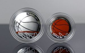 US Mint Sales: Colorized Basketball Coins Rise to 45,605