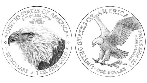 2021 American Eagle Gold and Silver Reverse Designs