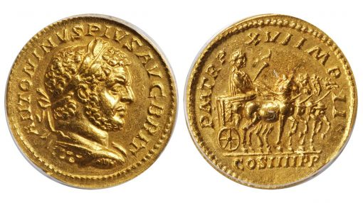 Lot 71053: CARACALLA, A.D. 198-217. AV Aureus