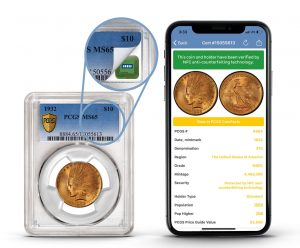 PCGS To Embed NFC Technology In Holders