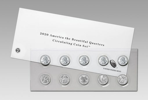 U.S. Mint image - 2020 America the Beautiful Quarters Circulating Coin Set