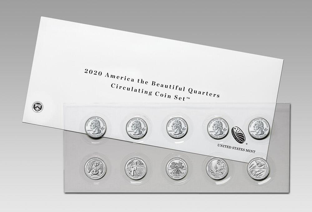 2010 US Mint Set w// Original Packaging Complete P /& D Coin Set W// COAs