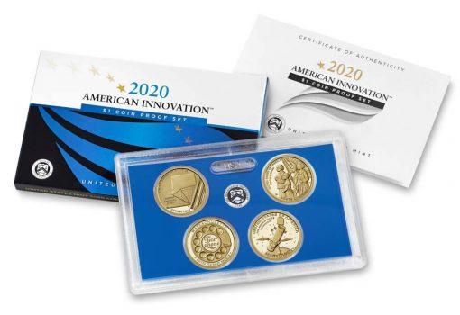 US Mint image 2020 American Innovation Dollar Proof Set