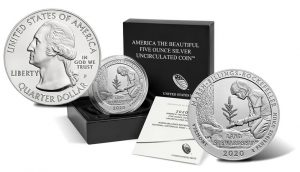 2020 Marsh-Billings-Rockefeller 5 Ounce Silver Uncirculated Coin Launch