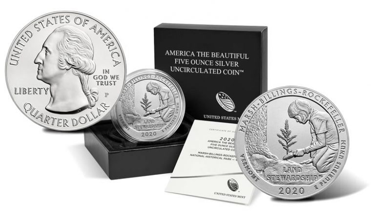 2020 Marsh-Billings-Rockefeller 5 Ounce Silver Uncirculated Coin Launch
