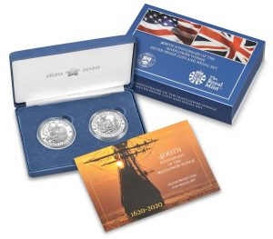 US Mint Sales: Tallgrass Prairie Quarters and Mayflower Voyage Products Debut
