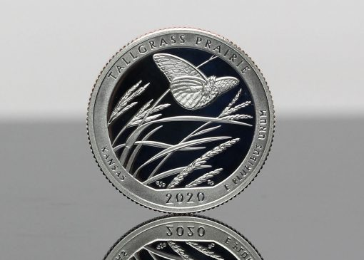 CoinNews Photo 2020-S Proof Tallgrass Prairie National Preserve Quarter