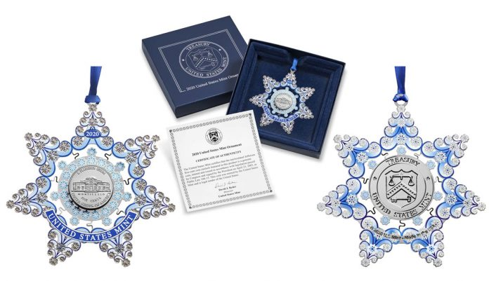 United States Mint 2020 Ornament Product Images