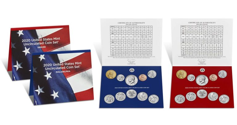 2020 US Mint Uncirculated Coin Set Launch