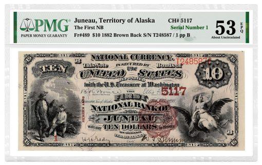 1882 Juneau, Territory of Alaska, The First NB