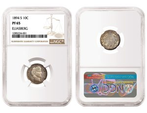 NGC-Certified 1894-S Barber Dime and 1794 Dollar Each Top $1M in SBG Sale