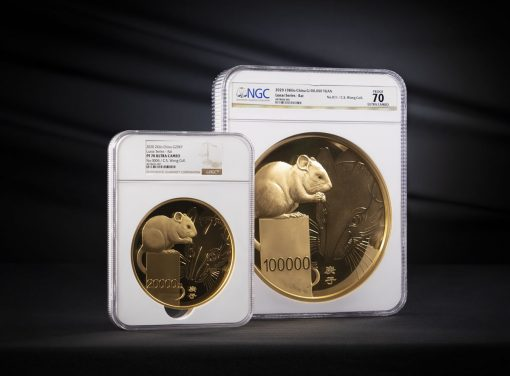 2020 10Kilo and 2 Kilo Year of the Rat Gold Coins