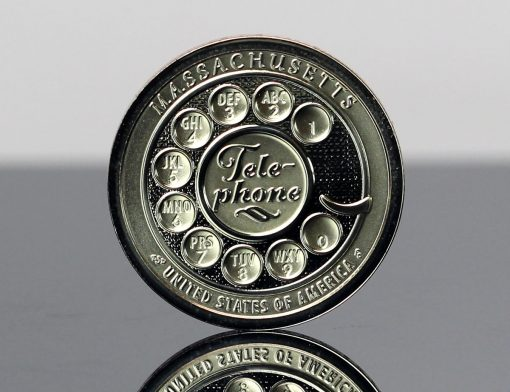 CoinNews Photo 2020-S Reverse Proof Massachusetts American Innovation Dollar