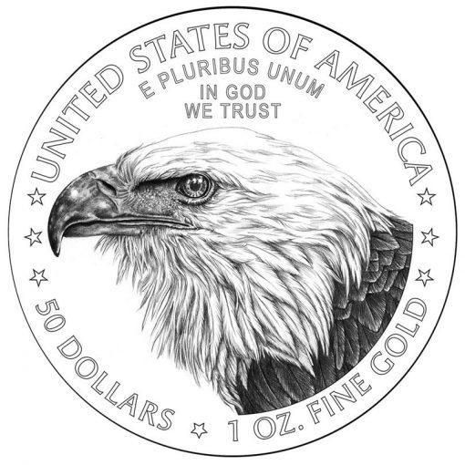 Design of new American Gold Eagle reverse